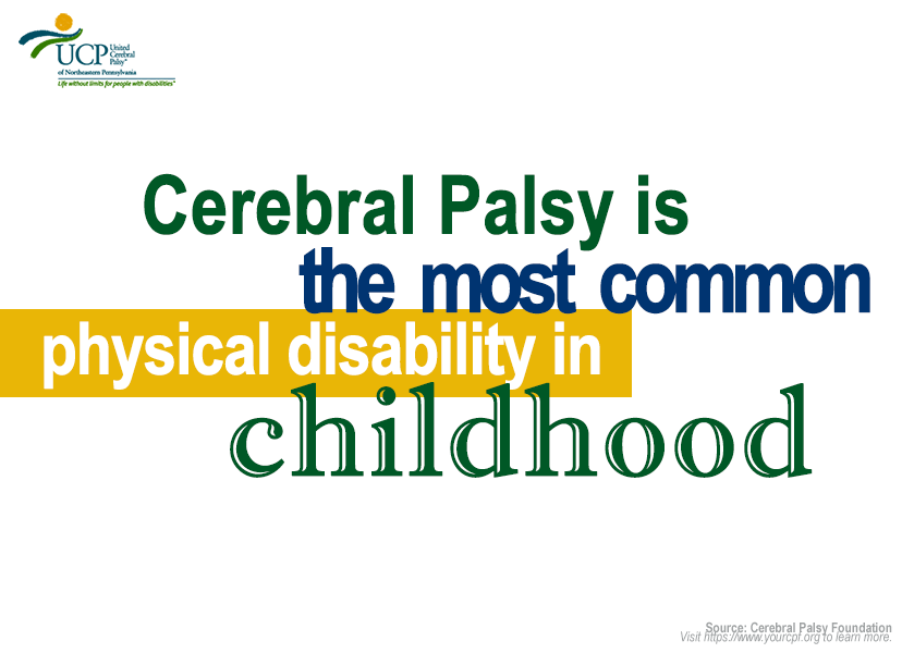 CP is most common physical disability in childhood.