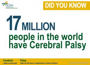 17 Million have CP.